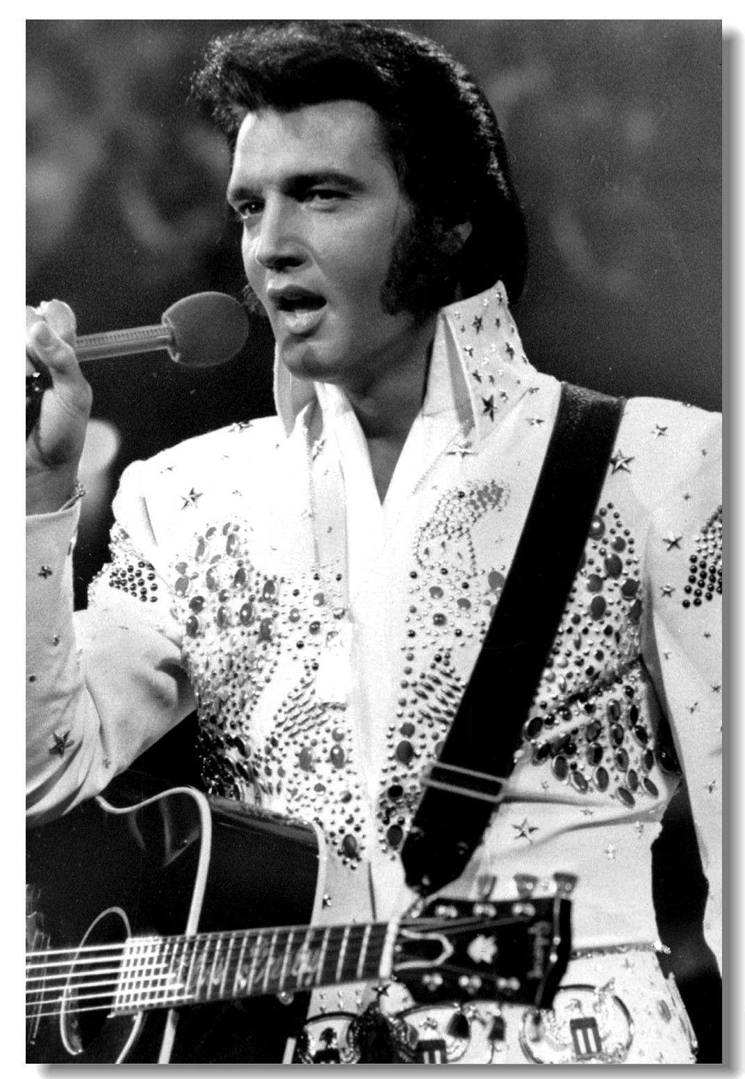 2019 Elvis Presley Pop Singer Star Room Club Art Silk Poster 20x30