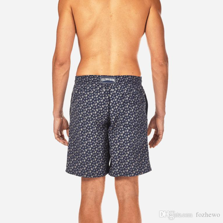 fac7cce5798b5 2019 Mens Paris Summer Board Shorts Loose Swimwear Men Swimming Trunks  Liner Mesh Sweat Sexy Swimsuits Mens Bermudas Beach Surf Praia From  Fozhewo, ...