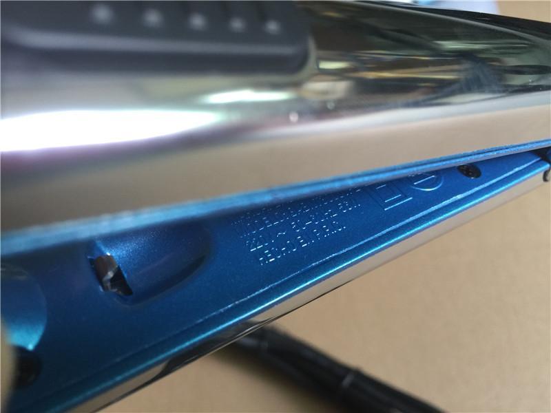 Vorhanden optima 3000 haarglätter PRO Na-Nein TITANIUM platte Flacheisen Ionic Hair Straightener DHL verschiffen