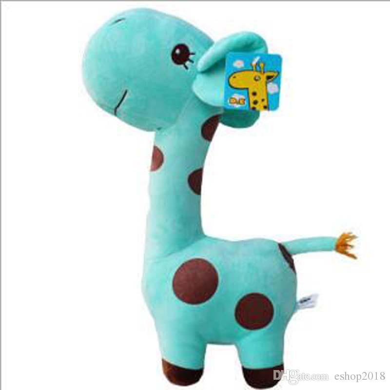 Lovely Giraffe Soft Plush Toy Animal Dear Doll Baby Kid Children Birthday Gift Deer Pillow