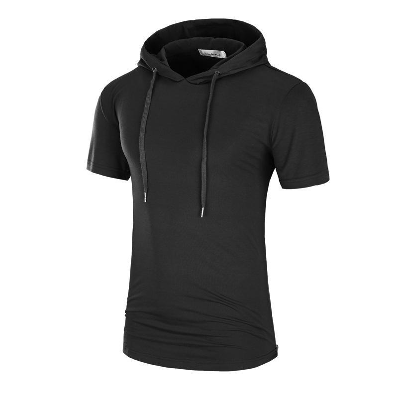 a9e42aade27 Men S Summer Turtleneck T Shirt Street Fashion Short Sleeved Camouflage Mid  Long Print Bottom Shirt Leisure Sports Top Shirt Custom T Shirts From  Coco989