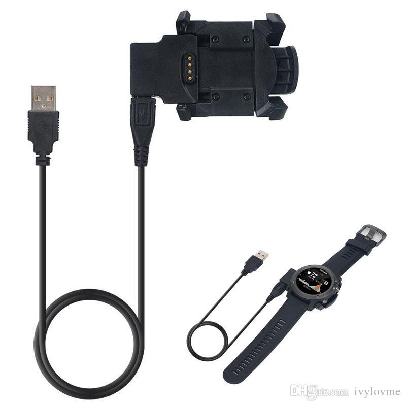 Hot For Garmin Fenix3 HR Quatix3 Charging Cable For Garmin Fenix 3 Multisport GPS Watch USB Charger Dock Clip Data Sync Cradle