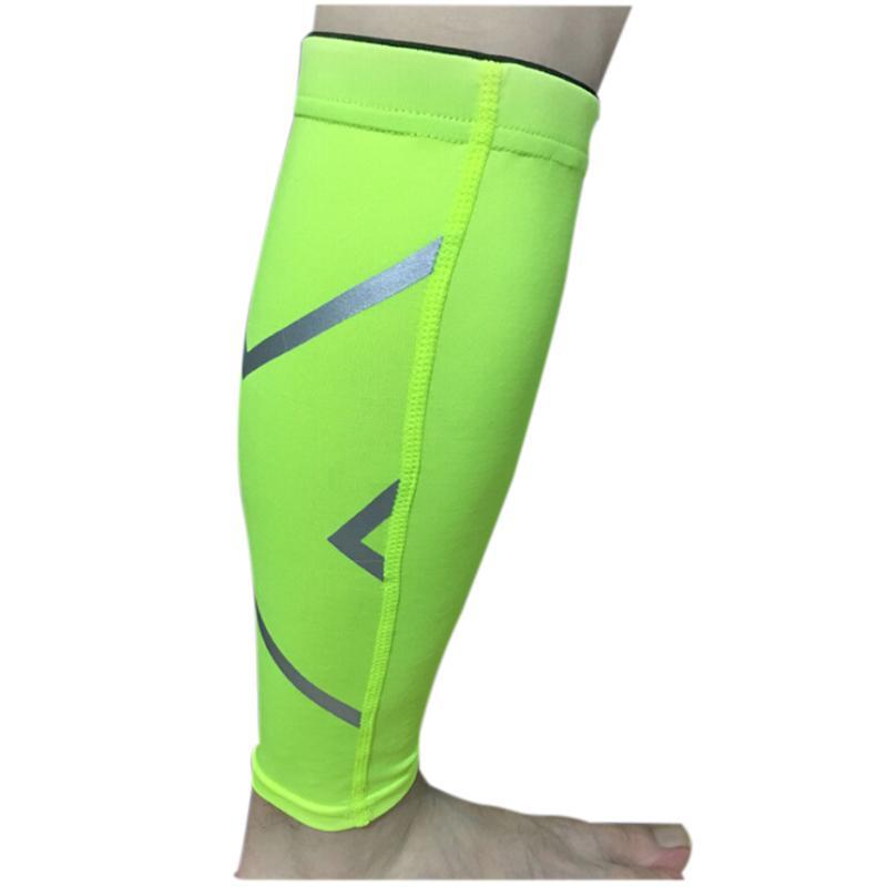 2019 Unisex Womens Mens Leg Support Braces Calf Socks Compressions Sleeves  Running Basketball Weight Lift Leg Sleeves Fluorescent XL From Godefery 534e3c816