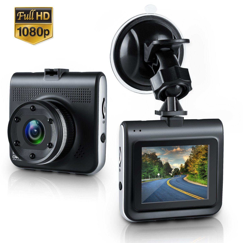 Objectif Acheter Dash Voiture Dashcam Dvr Cam Caméra Double 80nwOPk