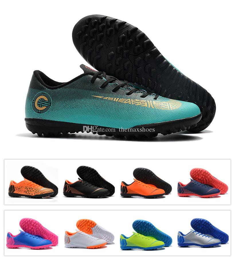 New 2018 Mercurial Superfly VII Soccer VaporX 12 6 XII Club CR7 Cristiano  Ronaldo Shoes Generation TF IC Football Cleats ACC Soccer Boots CR7  Cristiano ... ef667f198938a