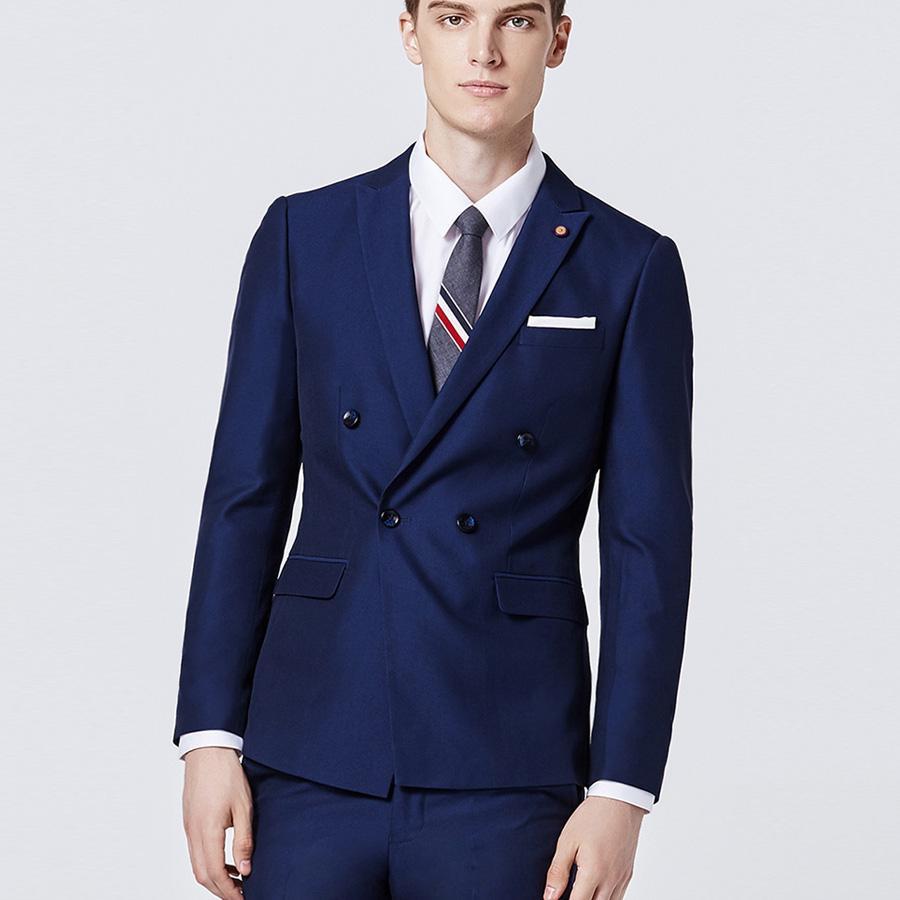 Großhandel Royal Blue Hochzeit Anzüge Für Beste Männer Anzug ...