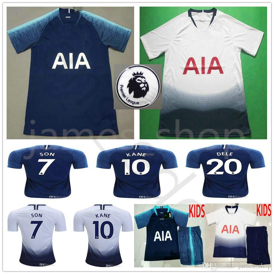 60c233716a4 New 18 19 Thai Quality Tottenhamys Kane Home 3rd Hotspuris Spurs ...