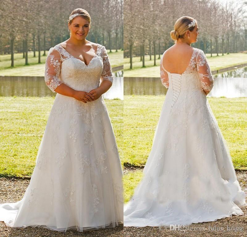 Vestidos de novia tallas grandes granada