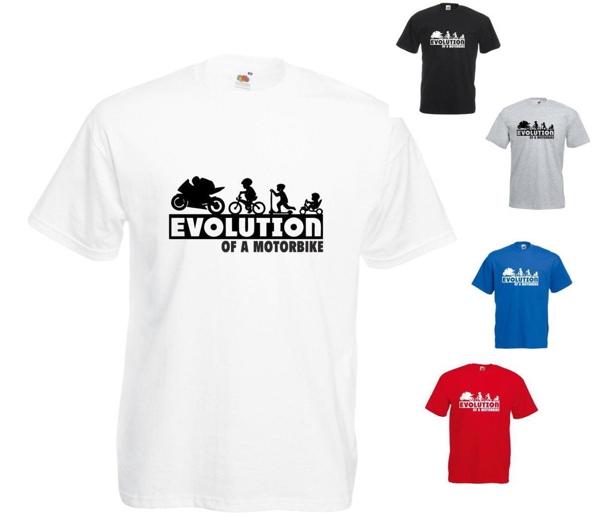 b4c9f79ee7 Großhandel Evolution Eines Motorrads Bedrucktes T Shirt Für Erwachsene Und  Kindergrößen Von Yuxin02, $12.18 Auf De.Dhgate.Com | Dhgate