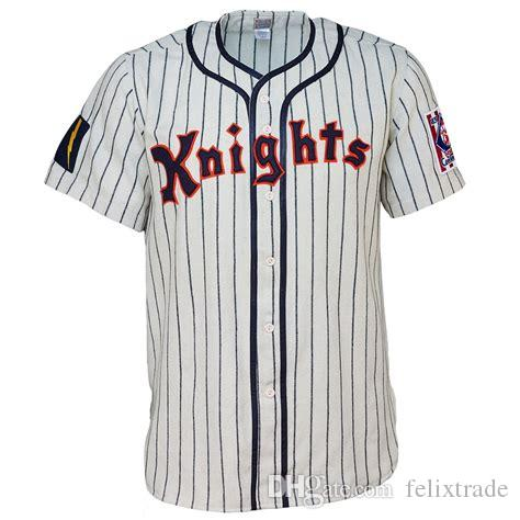 New York Knights 1939 Home Jersey Double Stiched Name   Number ... 9a9d08b79