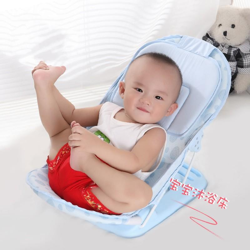 2018 Foldable Baby Bath Tub Bed Newborn Baby Bath Seat Chair Shower ...