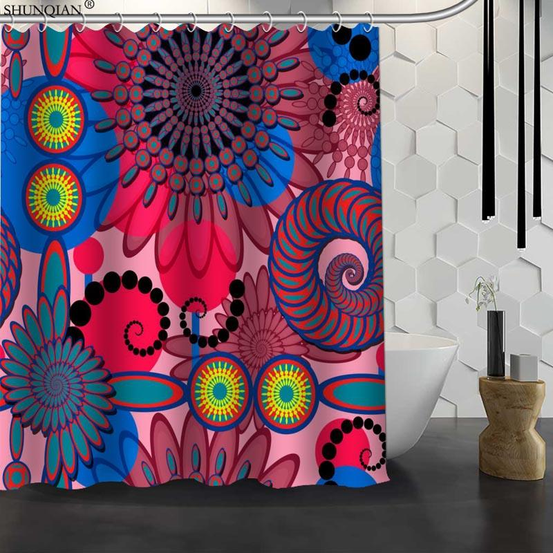 2019 New Classic Art Pattern Custom Shower Curtain Waterproof Fabric Bath Polyester Bathroom 18 411 From Asite 3148