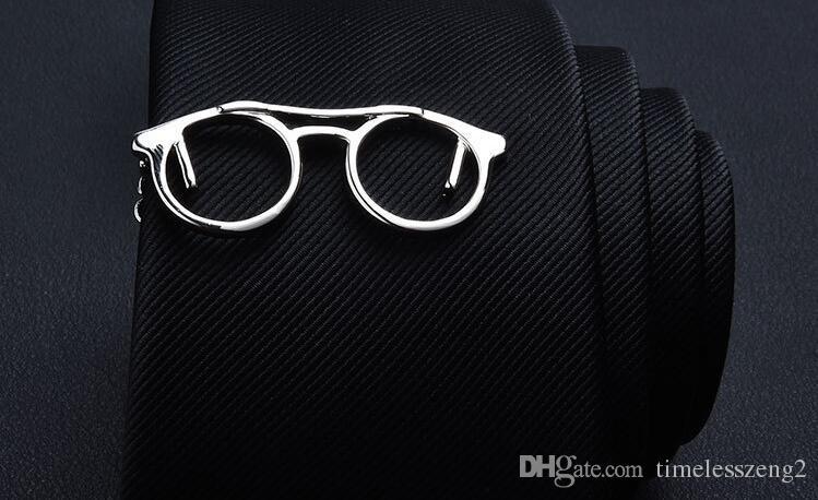 인기있는 은빛 금속 넥타이 클립 신사 세련된 넥타이 걸쇠 고품질 타이 바 멀티 스타일
