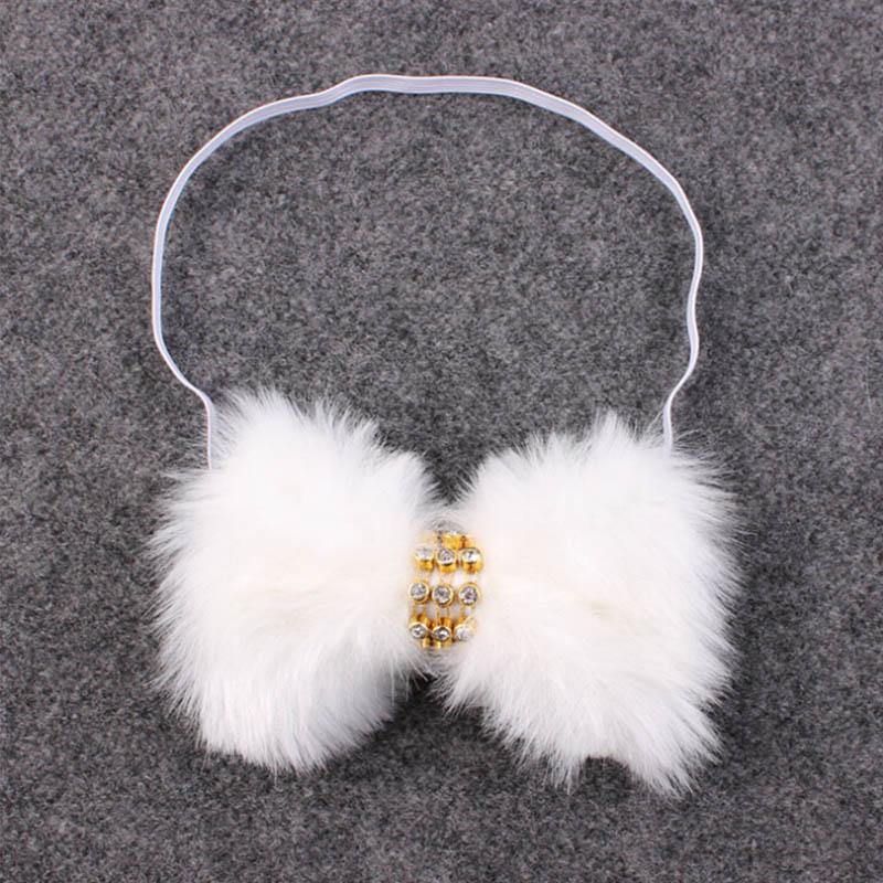 Newborn Fur Headband Rhinestone Fur Headbands Chic Kids Headwear Hair Bands  Accessories Photography Prop Hair Accessories For Kids Girl Hair  Accessories ... 0fb1b545a9e