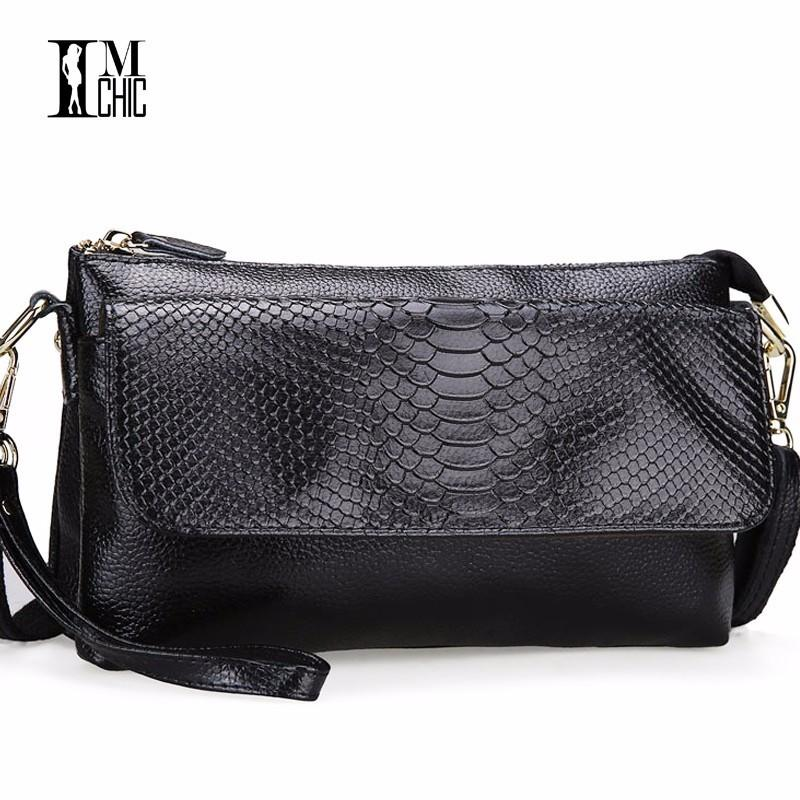 Responsible Goog.yu Classy Crocodile Printing Male Genuine Leather Bag Fashion Embossing Designer Handbags High Quality Shoulder Bags Home