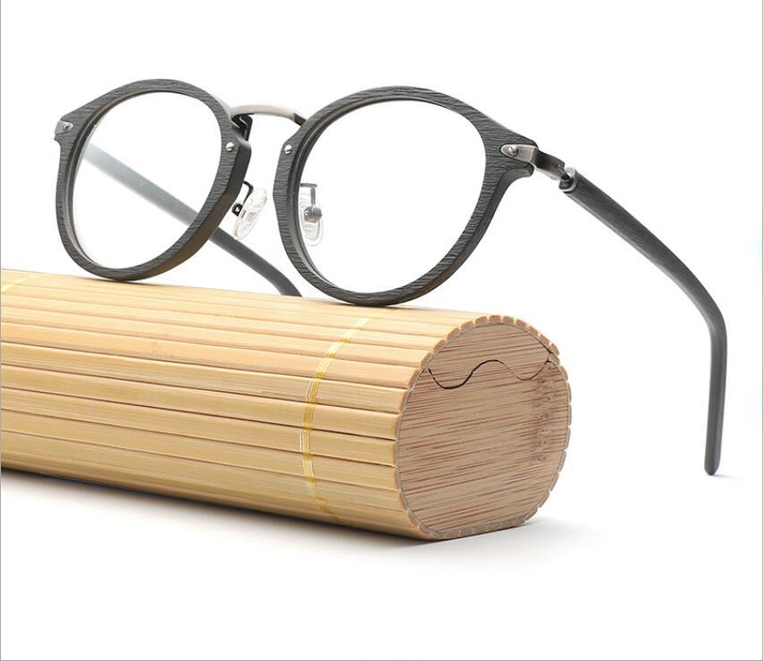 a8171923b 2019 New Retro Circular Eyeglass Frame, Wood Imitation Plate, Circular Frame,  Spectacle Frame For Men And Women, BC06. From Bojiban, $55.93 | DHgate.Com