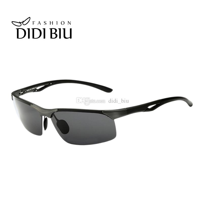 01d4ead4104 Polarized Military Aluminum Men Sunglasses Premium Driver Cool ...