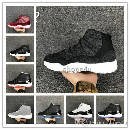 various colors 4295d cb5df 11 PRM Grey Suede good Quality Wholesale Carbon Really 11s Suede Men Shoes  Basketball Shoes Men shoes