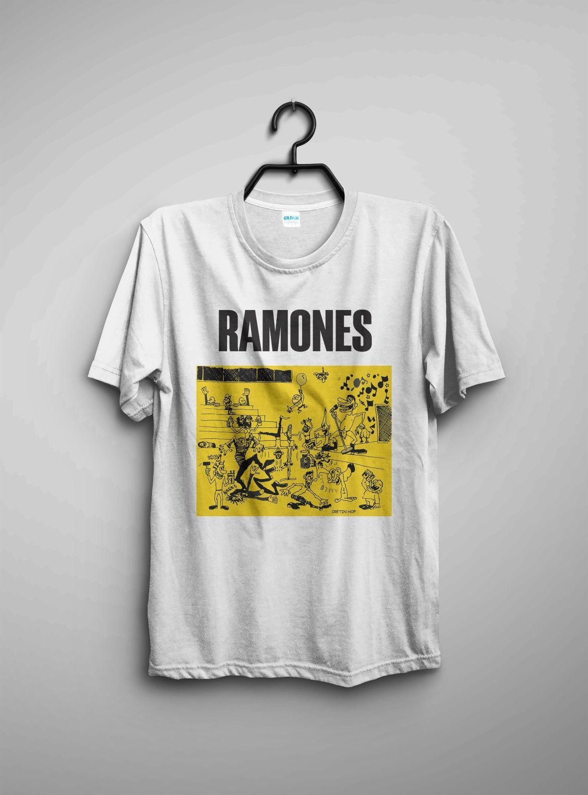 Ramones Vintage Official Half Way To Sanity Tour Cretin T Shirt 1987