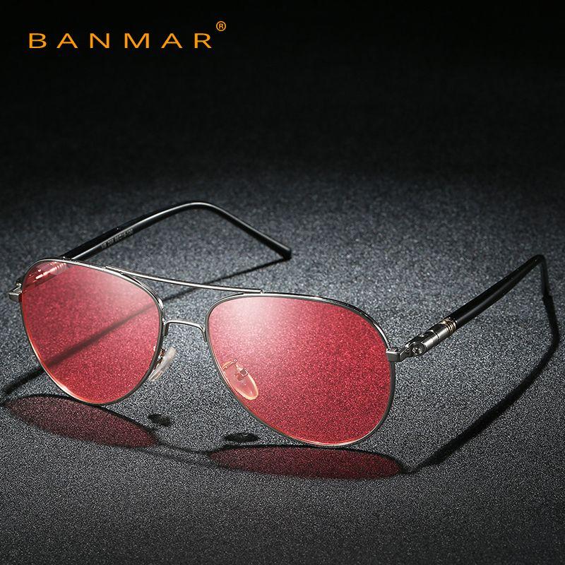 8455ebfd588 Pilot Polarized Sunglasses Men Day Night Vision Driving Glasses Goggles  Women Yellow Green Pink Lens Anti Glare Sun Glasses Oversized Sunglasses  Best ...