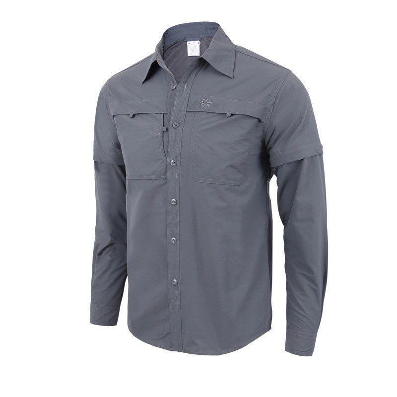 b86ba6da6db9 Mortonpart Hiking Shirt Men Quick Dry Outdoor Shirt Long Sleeve Men Hunting  Fishing Shirt Breathable Anti-UV Clothing C18111401 Online with   64.15 Piece on ...