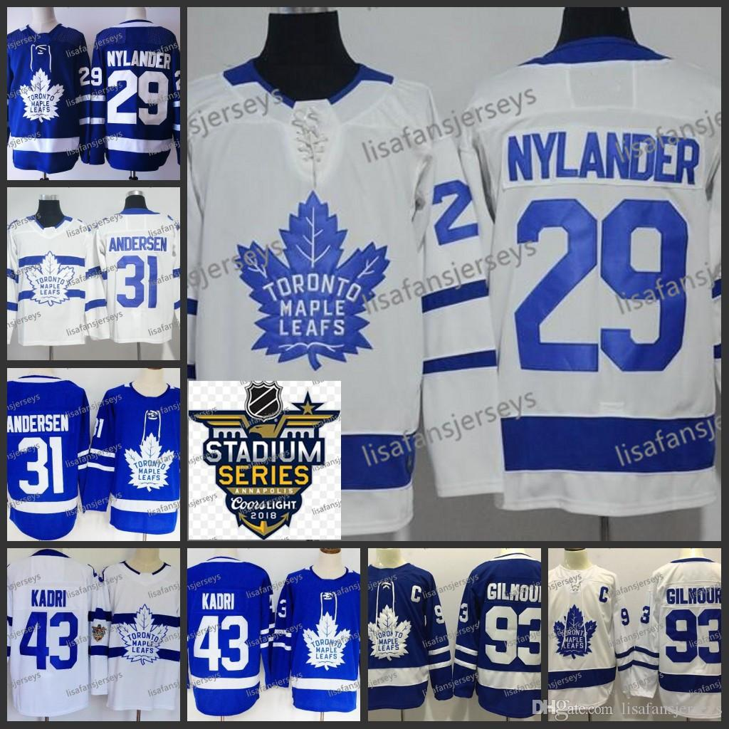 Mens Toronto Maple Leafs 29 William Nylander 31 Frederik Andersen 43 ... e20401441