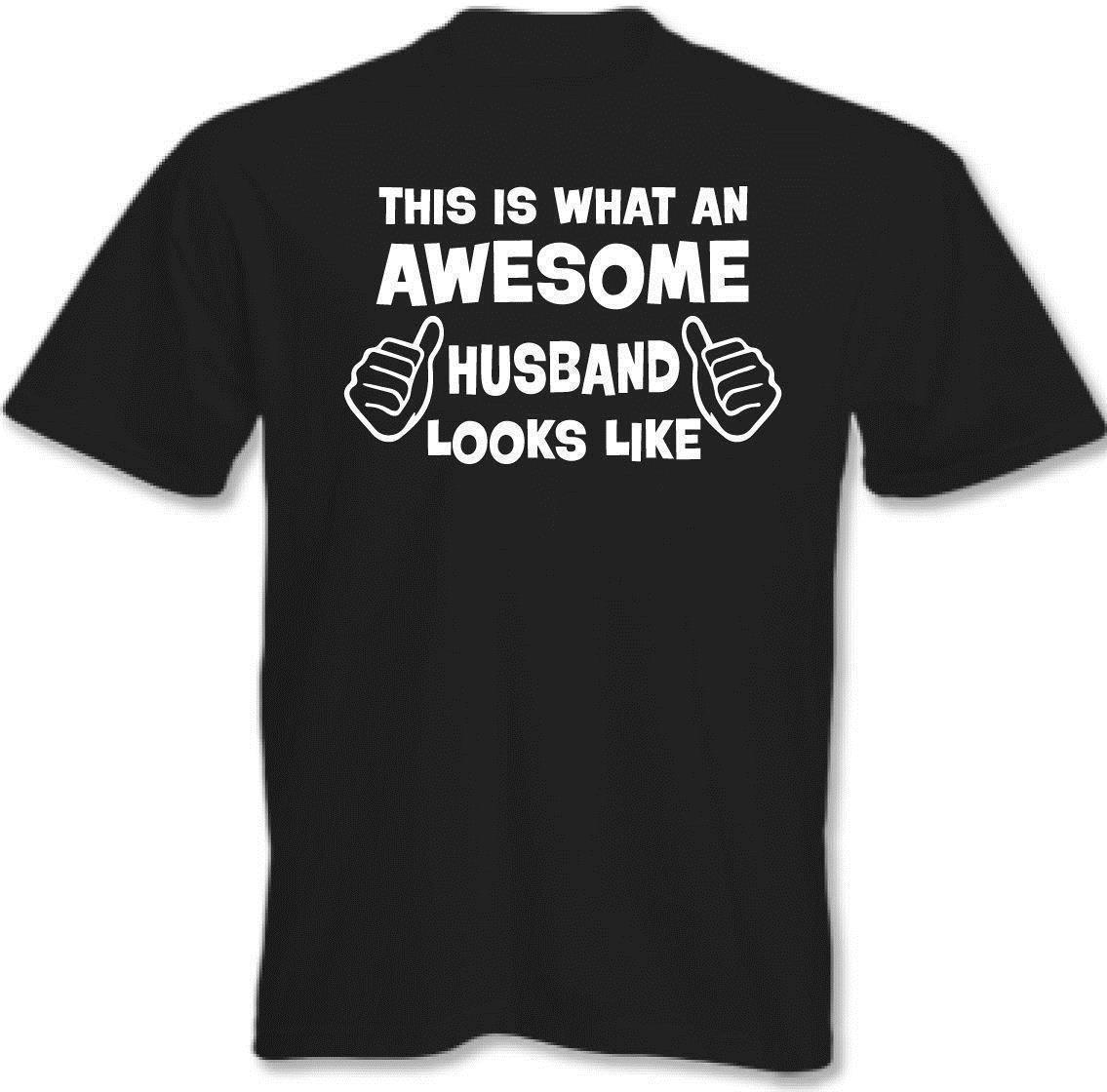 Stupenda Marito Uomo T Shirt Divertenti Regalo Padri Giorno