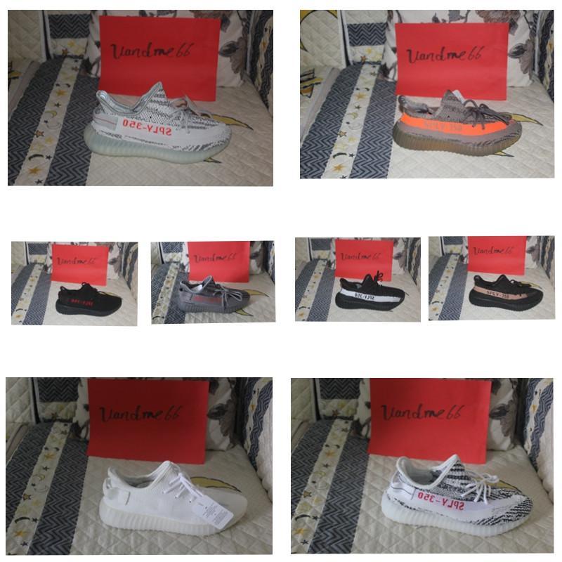 8b7f7fd29 350 V2 Zebra Cp9654 Beluga 2.0 AH2203 Orange Grey Bred CP9652 2018 Top  Quality Fashion Running Shoes Kanye West Sneaker Racing Shoes Good Running  Shoes From ...
