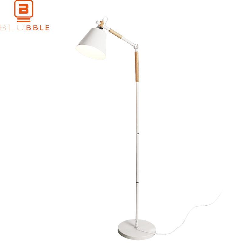 Großhandel BLUBBLE Nordic Holz Stehlampe Modern Luminaria Vertikal ...