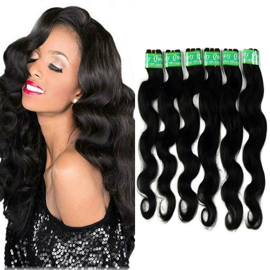 Peruvian Body Wave Hair Extensions Bundles Color 1bcolor 2 100