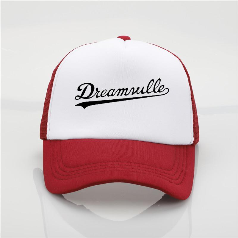 404201a79ee3d Fashion Mesh Cap Dreamville Printing Net Cap Baseball Cap Men Women ...