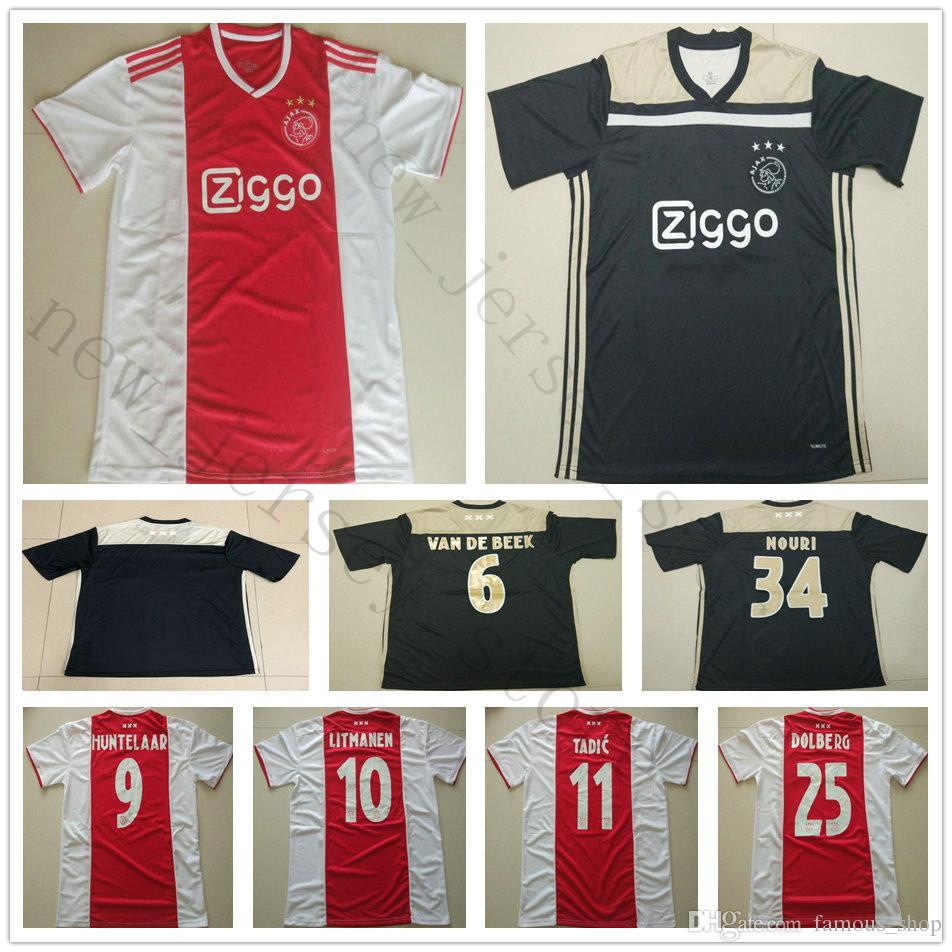 Fc Huntelaar Ziyech 2019 10 2018 Soccer Jersey 25 Ajax 9 0w8PnOk