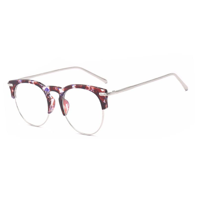 50a712d9d4 2018 Fashion Glasses Frame Optical Eyewear Accessories Eyeglasses Women  Frame Spectacle Frames Clear Computer Glasses S7777DF UK 2019 From Milknew