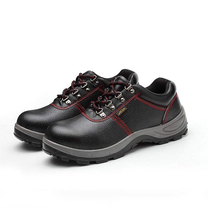 08f9bfbe33a4 YD EVER Plus Size Men Safety Shoes Steel Toe Steel Insole Genuine Leather  Breathable Electrician Shoes Men 6KV Insulated Snowboard Boots Rubber Boots  From ...