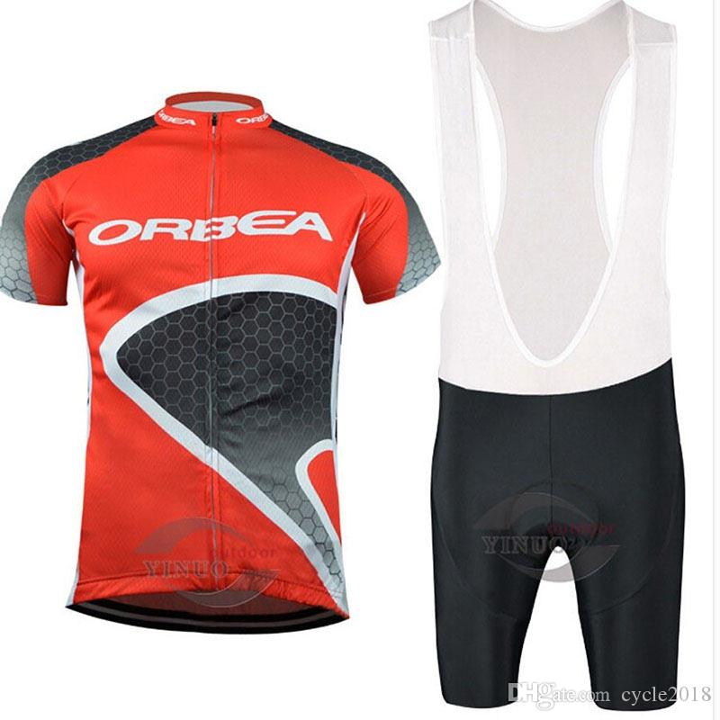 ORBEA HOT cycling jerseys Short Sleeves set Breathable Anti UV Bike Clothing Quick Dry Bicycle Sportswear 9D gel pad cycling bib Pant Ropa