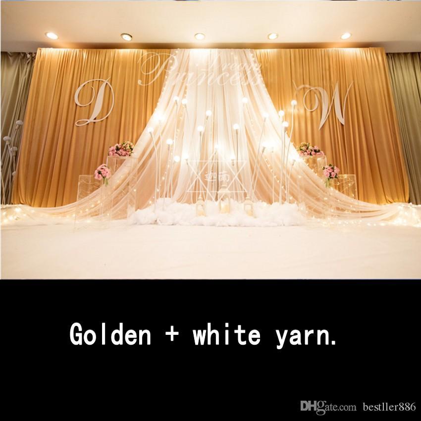 Express frete grátis 3x6MTR cenário de cenários de casamento decoração romântica design personalizado cortina de casamento, Fotografia de fundo