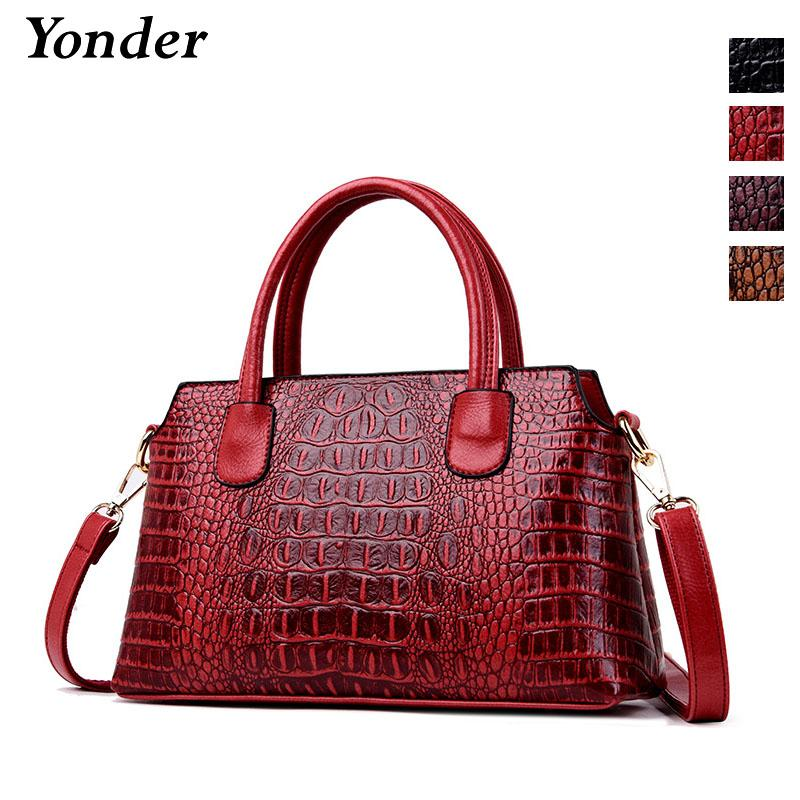 ea86ff25159d Yonder Brand Women Handbag Female Shoulder Bags High Quality Split ...