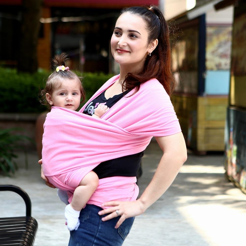2018 Baby Sling Carrier Natural Cotton Nursing Baby Wrap Suitable