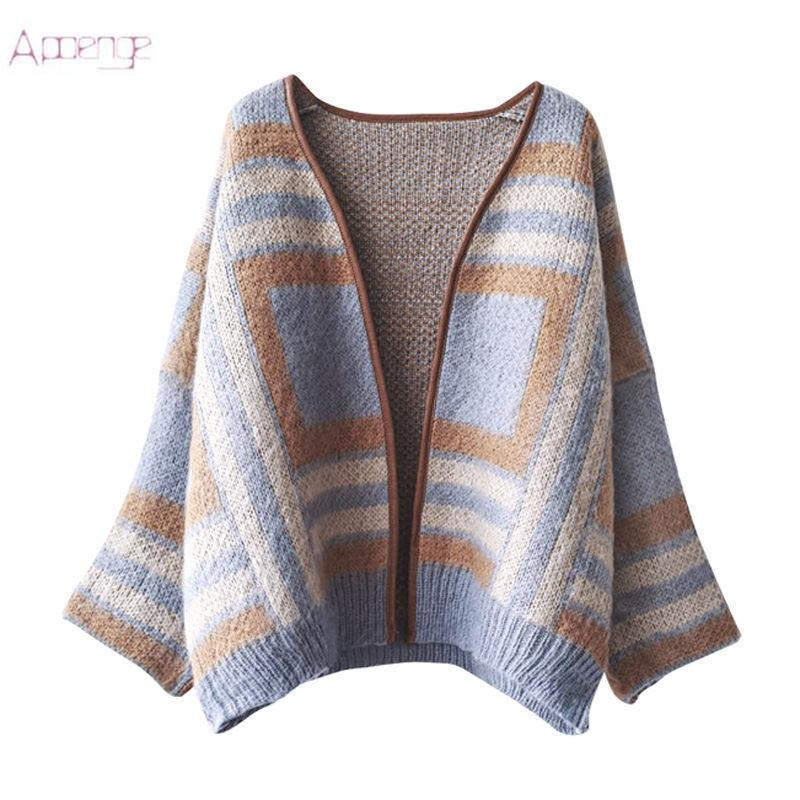 93e81b91e1a Autumn Women s Fashion Knitted Sweater 2018 New Winter Long-sleeved ...
