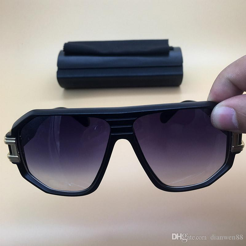 5d6486fbd42c 2018 New Brand Designer Black Frame Sunglasses Acetate Goggles Gradient  Lens Plastic Eyeglasses Mens Womens Retro Polarized Glasses 624 Sunglasses  Fashion ...