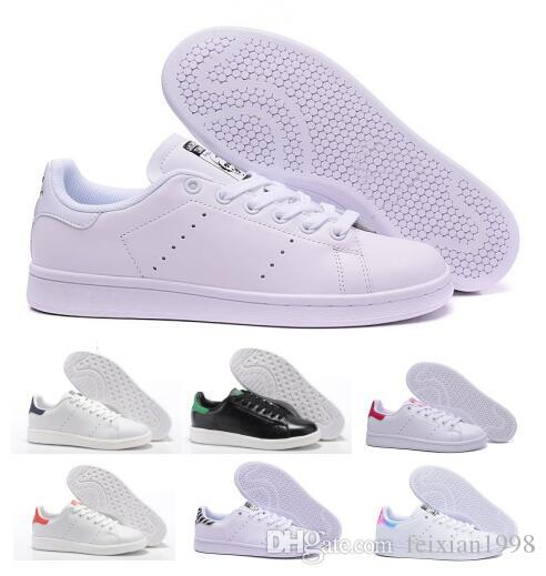 uk availability 3cbbd 0fe6c Sale 2018 Mens Women Stan Smith Classic Boat Flats Air Casual Shoes  Skateboard Punching White Leather Girls Originals Designer China Shoe Mens  Boots ...