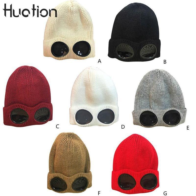 f865608756b New Novelty Boys Men Winter Hat Knit Men Caps Warm Fur Skullies ...
