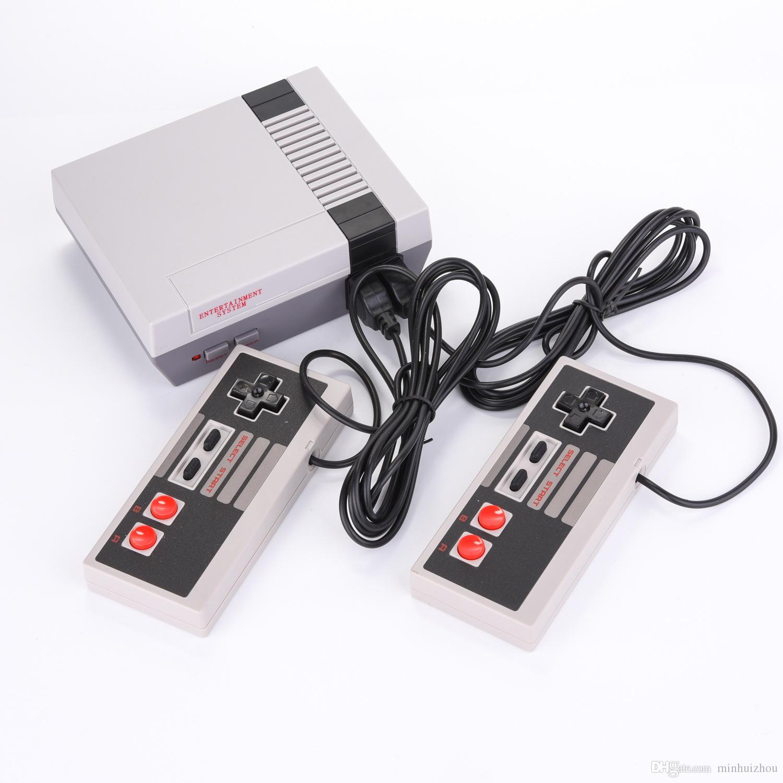 Mini-Modell für NES 620 Anniversary Edition Unterhaltung Spielkonsole mit Kabelkontroller Videospiel-Konsole-Player kostenlos DHL
