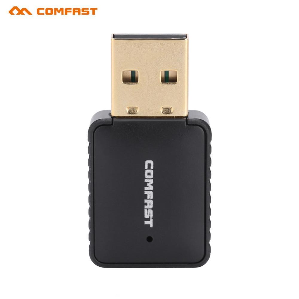 COMFAST CF-915AC 600M Min Dual Band Wireless Network Card USB WiFi Adapter Repeater