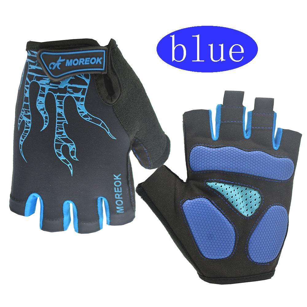 Men's outdoor sports gym slip anti-collision gloves climbing adventure riding half finger gloves boxing professional gloves