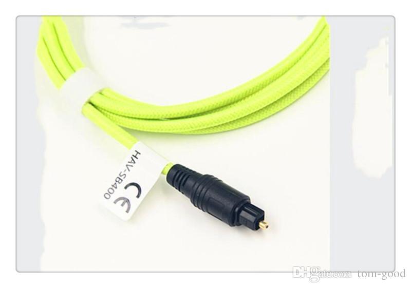 SZQY Vention Optique Fibre Audio Câble Toslink Numérique SPDIF Câble 1 m 2 m 3 m Pour Blu-ray CD DVD joueur Xbox 360 PS3 Mini Disc AV