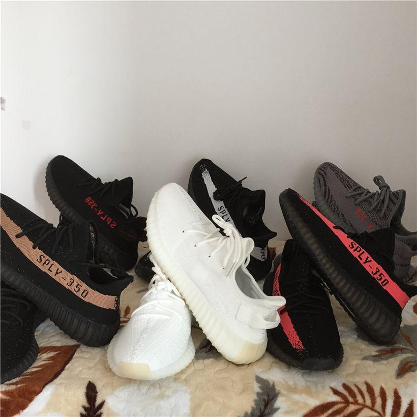 sneakers for cheap 20740 d5a6d Drop Envío 350 Boost V2 Beluga 2.0 Ah2203   Frozen Amarillo Boost 350 V2  Zapatillas Running Cream   Zebra   Bred Hombres Mujer Deportes Sneaker Por  Missqian ...