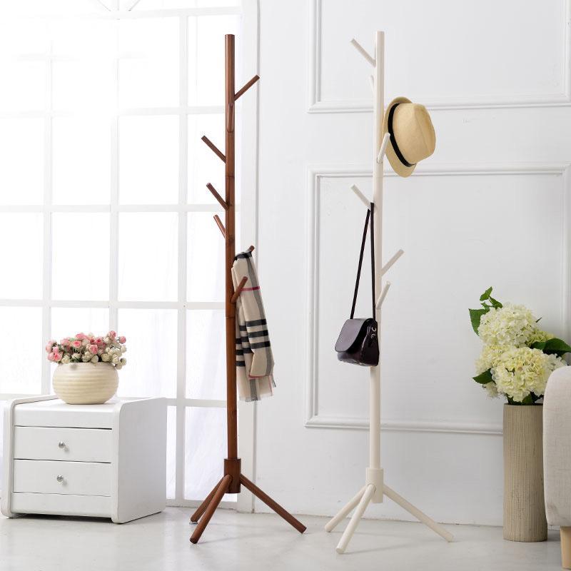 Kleiderständer Schlafzimmer großhandel 8 haken moderne bunte kleiderbügel stand für hall möbel