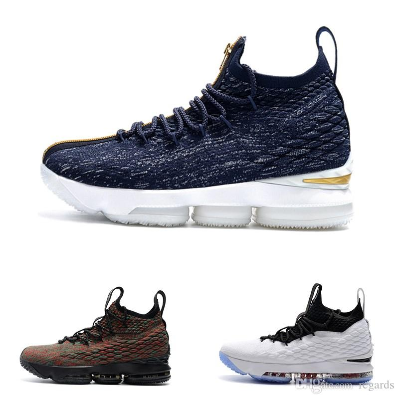 c1d93037138a 2019 2018 New XV 15 Equality Men S Black And White Basketball Shoes High  Quality 15s EP Sports Training Sneakers Size 40 46 From Regards