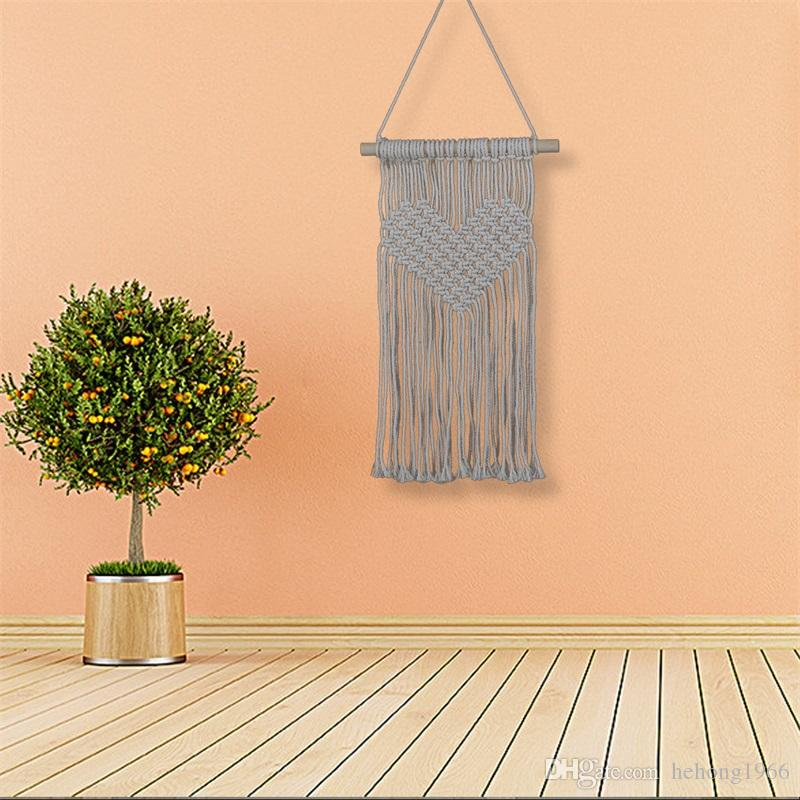 Bohemia Macrame Tapestries Woven Wall Hanging Tapestry For Home ...